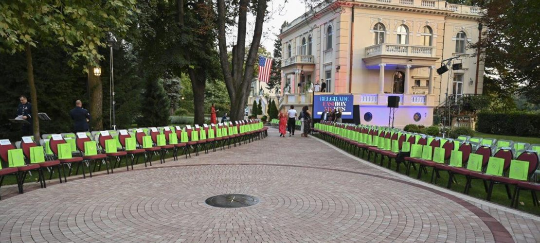 Belgrade Fashion night u ambasadi SAD