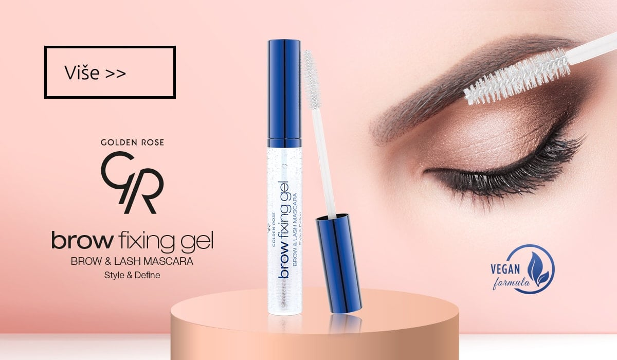 Golden Rose Brow Fixing Gel Brow Lash Mascara
