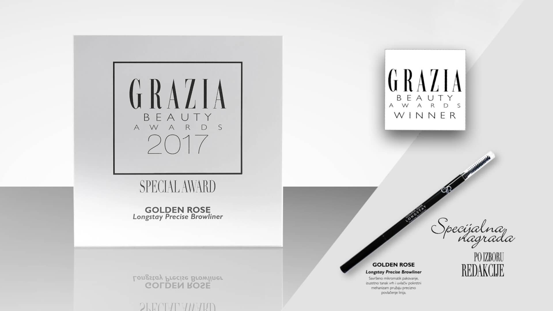 GRAZIA BEAUTY AWARDS 2017. GODINE SPECIJALNA NAGRADA